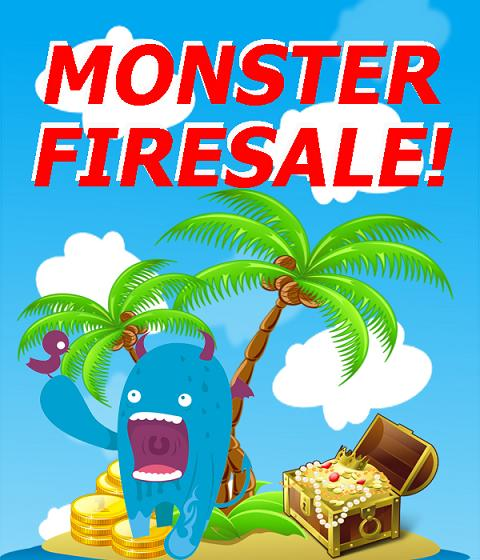 monster firesale