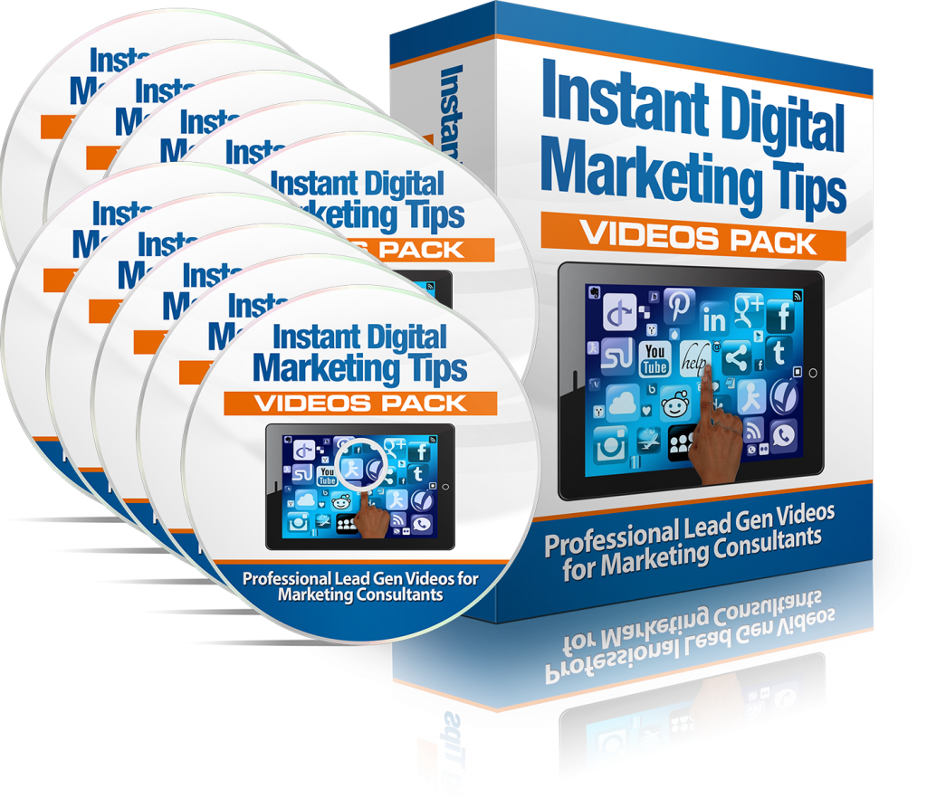 Instant Digital Marketing Tips Videos Pack