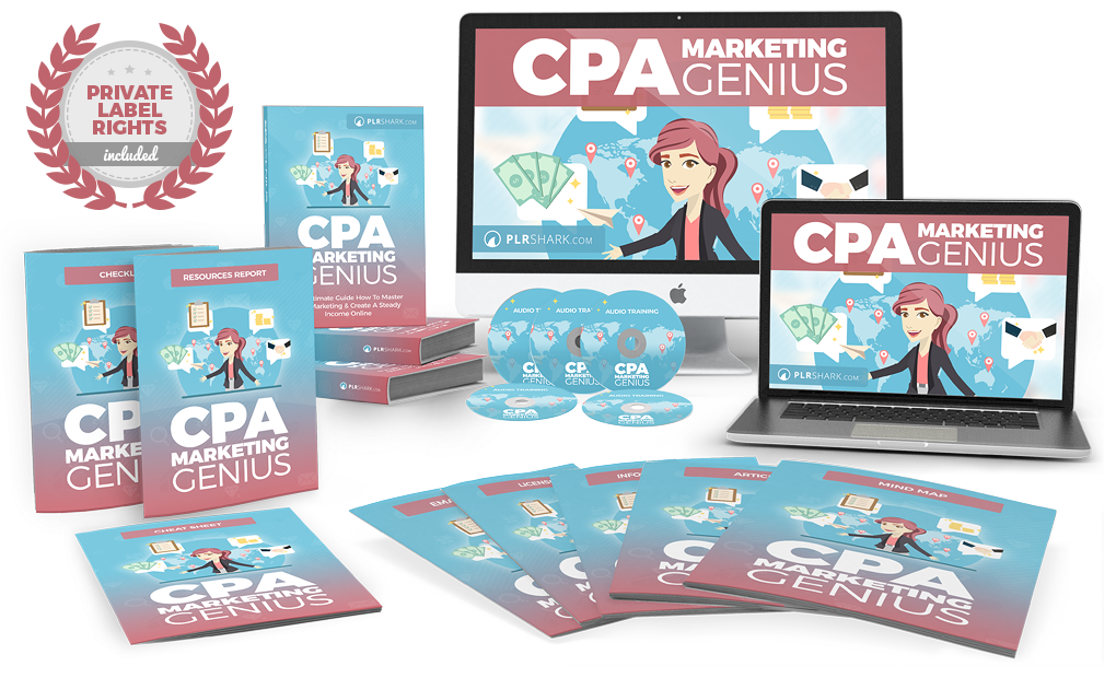 cpa marketing genius plr