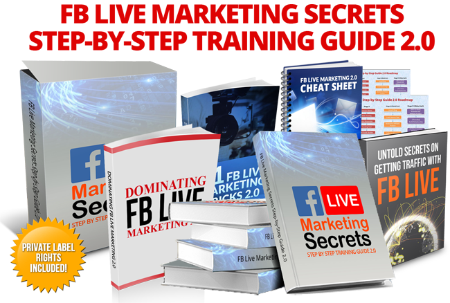 facebook live marketing secrets 2 plr