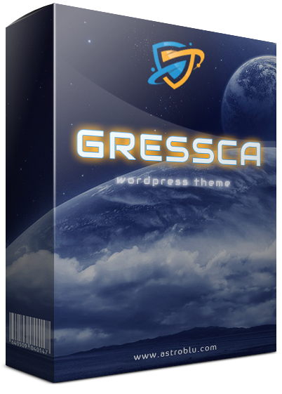 Gressca WordPress Theme