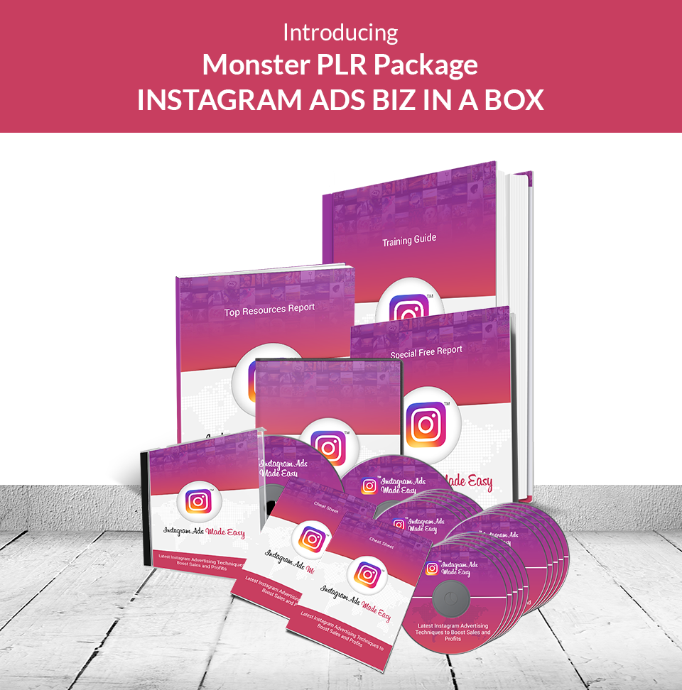 Instagram Ads PLR