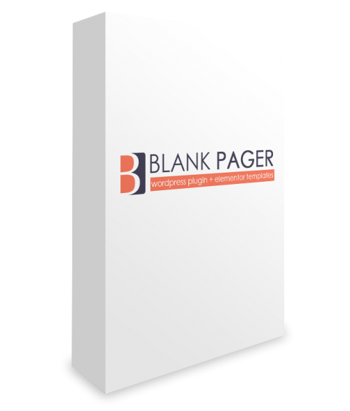 Blank Pager