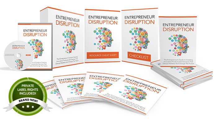 Entrepreneur Disruption PLR