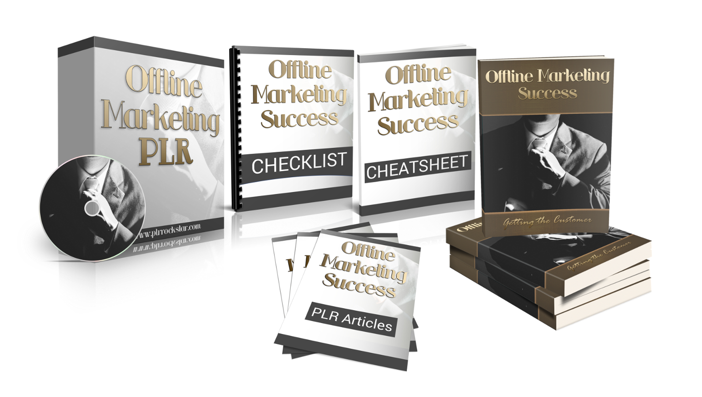 Offline Marketing Success PLR