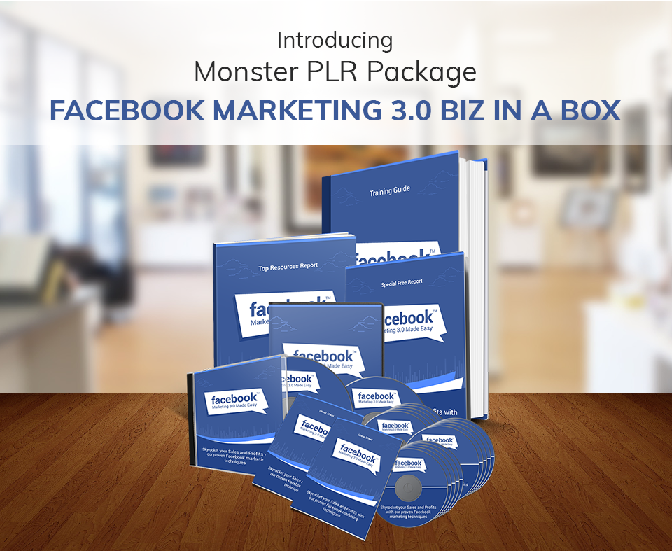 Facebook Marketing 3.0 PLR
