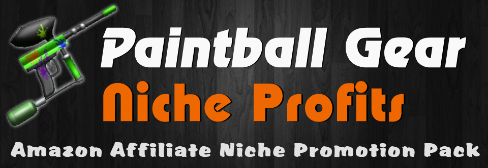 Paintball Gear Niche Profits