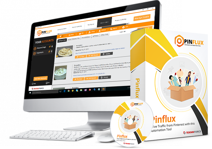 Pinflux Pinterest Software