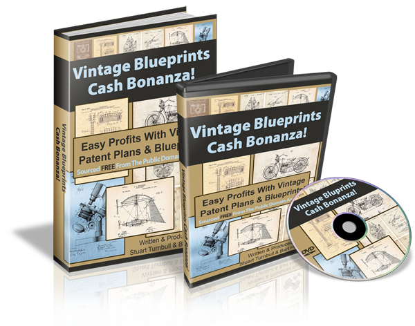 Vintage Blueprints Cash Bonanza
