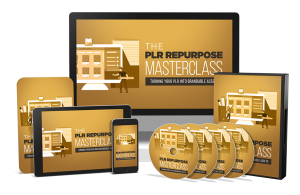 The PLR Repurpose Masterclass