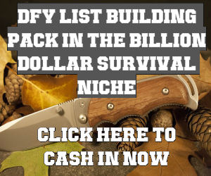 Survival Affiliate List Building Pack