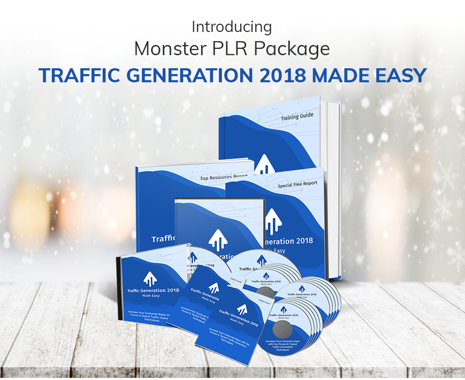 Traffic Generation 2018 Made Easy PLR