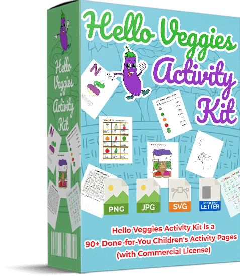 Hello Veggies Activity Kit
